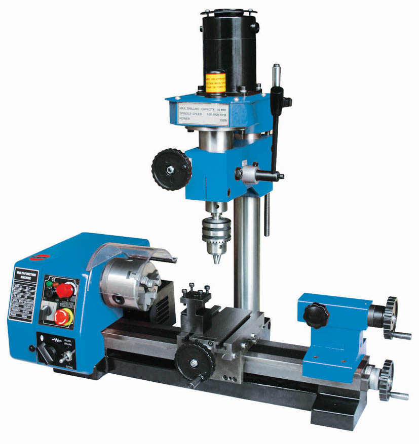 Multi-purpose Mini Mill/drill Combo Lathe Milling