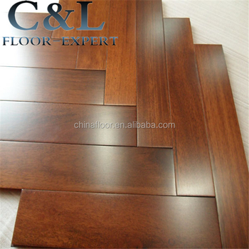 Indonesia Natural Texture Parquet Merbau Solid Wood Flooring