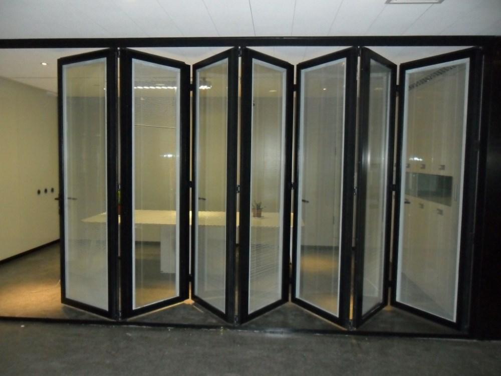 Deuren Te Koop.Energiebesparende Aluminium Commerciele Accordeon Vouwen Vouwen