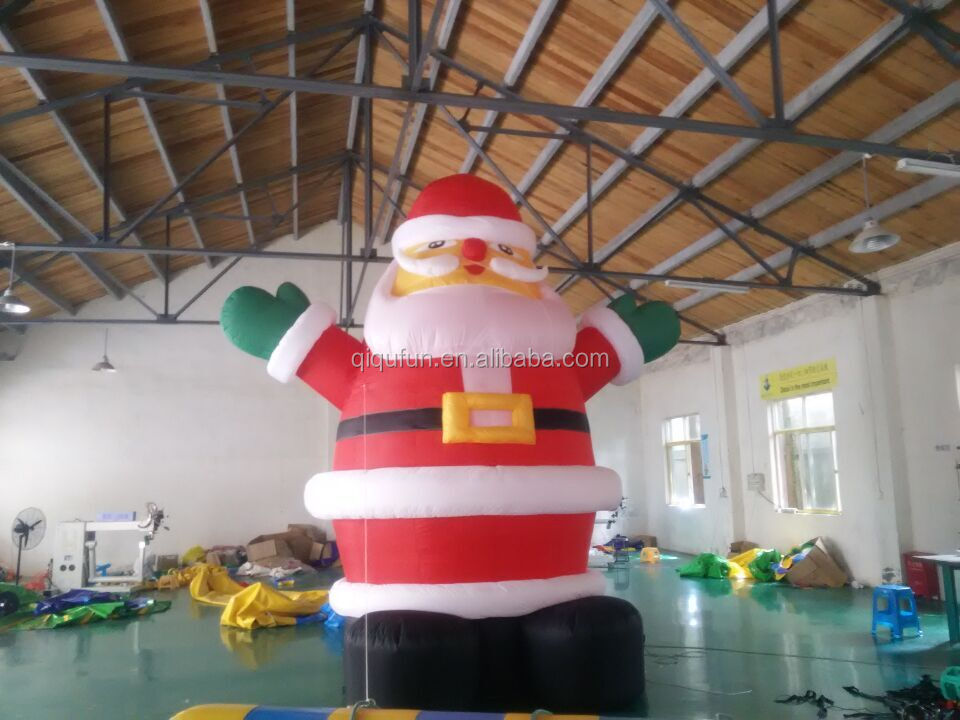 Cheap Hot Sale  Christmas decorating LED lighting inflatable with Sack