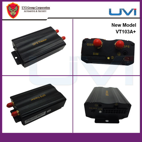 UVI online mobile phone tracking software for pc dual sim card car gps tracker VT103A+