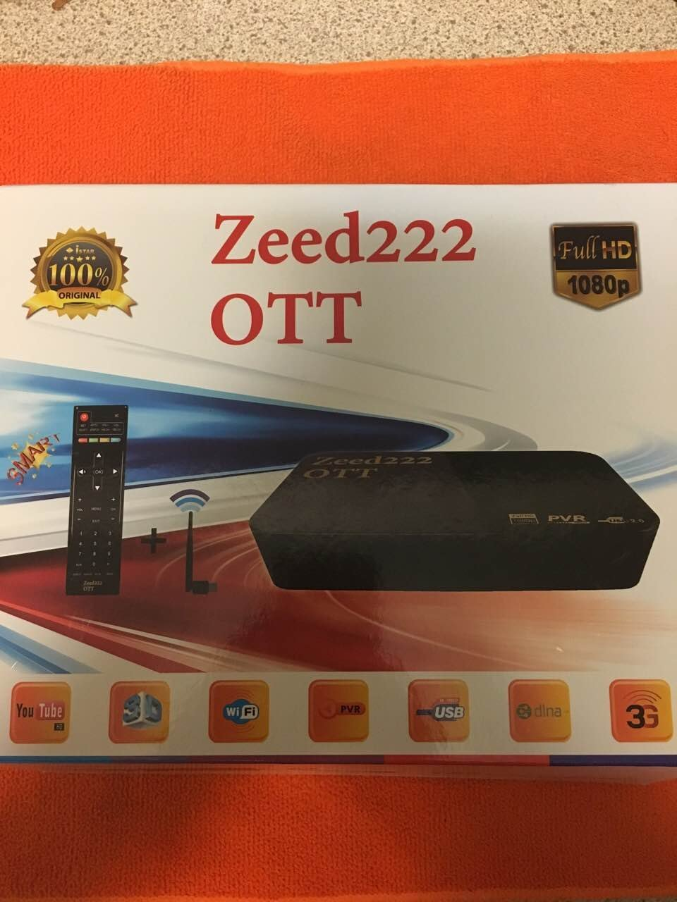 new iStar 2017 IPTV Box, the Zeed222 OTT is the newest iStar product comes with ONE YEAR FREE subscription. Over 1200+ Arabic, Kurdish, and European Channels