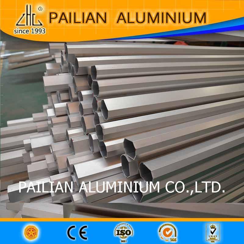 Caliente tubo de aluminio anodizado te negro toldo for Tubos de aluminio para toldos
