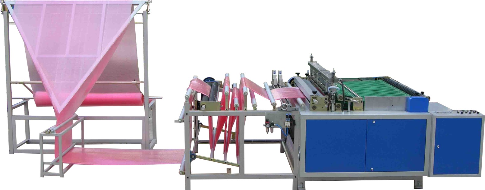 FLY-1250 EPE Foam Sheet/Plastic Film/Air Bubble Film Bag Making Machine
