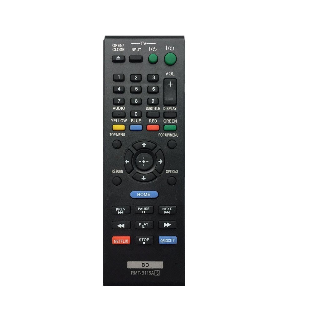 ZdalaMit RMT-B115A Replacement Remote Control fit for Sony Blu-Ray Disc DVD Player BDP-S480 BDP-S2100 BDP-S280 BDP-S580 BDP-S380