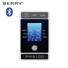 digital blood pressure measuring medical ICU Bluetooth handheld patient monitor with APP