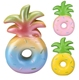 16CM Jumbo Fruit Kawaii Cute Pineapple Donut Squishy Soft Slow Rising Kid Fun Toys Squeeze Bread Phone Straps Pendant Wholesales