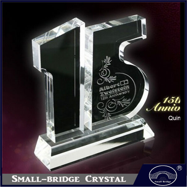 Crystal Gifts For 15th Wedding Anniversary: Supply Custom Anniversary Tenth Anniversary Gift Corporate
