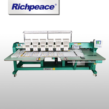 Advanced Richpeace Computerized Precise Flat Embroidery Machine