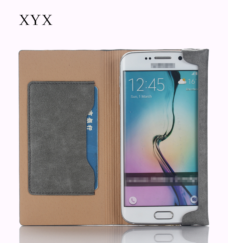 for sony xperia x case cover, elegant design with magnet build in edge, magnetic flip without color, pocket design by XYX