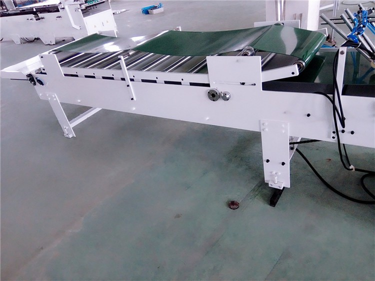 GK-B Professional made low noise high speed pre-fold folding gluing machine