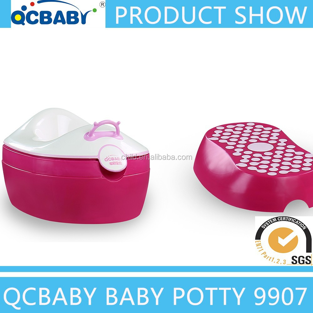 best seller 3 in 1 multi-function baby potty,portable toilet with lid
