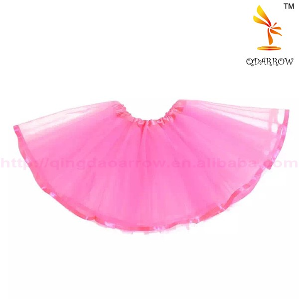 Wholesale Plain Dyed Fluffy Girls Tutu Skirt