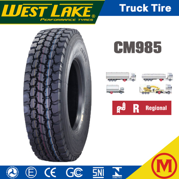 WestLake Goodride Chaoyang brand China TBR Tyre CM985 1020 11r 22.5 Truck Tires