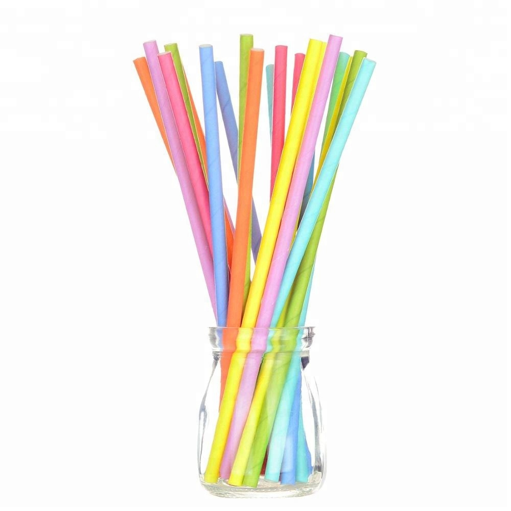 Undefined  Fda Certificates Eco-Friendly Soy Ink Print Disposable Drinking Paper Straw