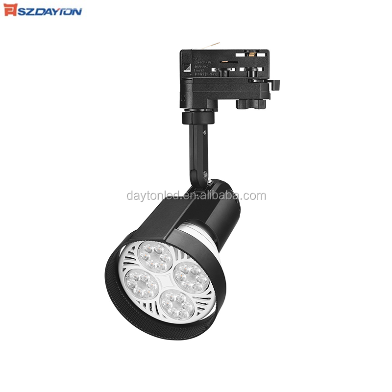 Shenzhen lighting LED Track Light E27 Par30 Bulb GU10 Spotlight for Clothing Shoes Lighting
