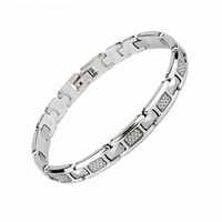 Style 33 Korea style friendship carbon fiber stainless steel bracelets