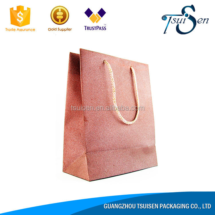 New innovative products 2017 advertising thin paper gift bags