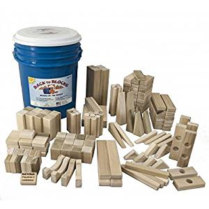 Delicieux Back To Blocks Fun With Friends Wooden Building Blocks | 150 Piece Lg Wooden  Block Set