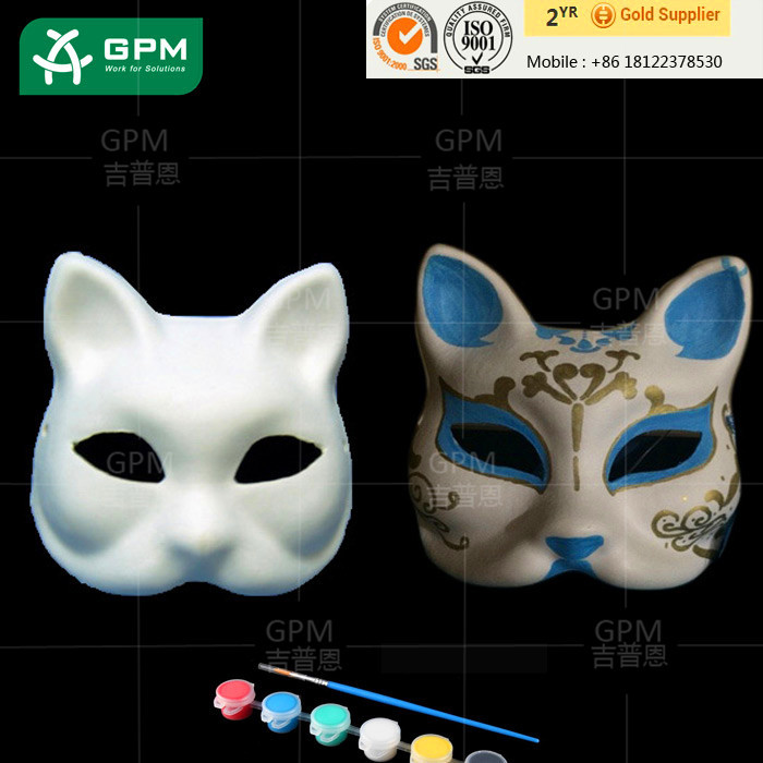 Hot sell delicate multicolor halloween wolf mask