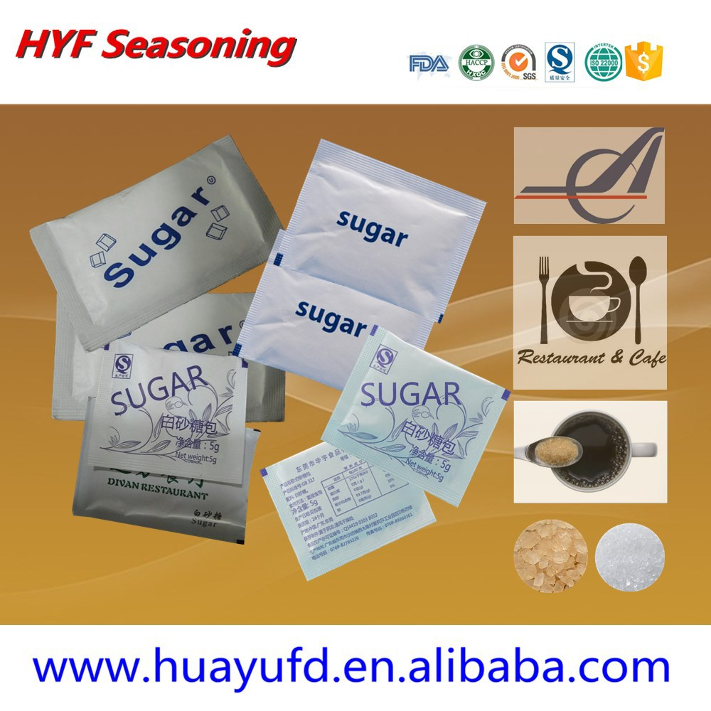 Hot Sell For Brown Sugar Cane Packet For Airline,Restaurant,Home ...