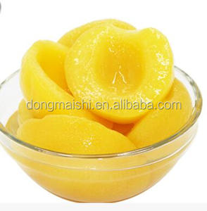 factory price Origin of Fruit Supply Directly Canned Yellow Peach Halves425g