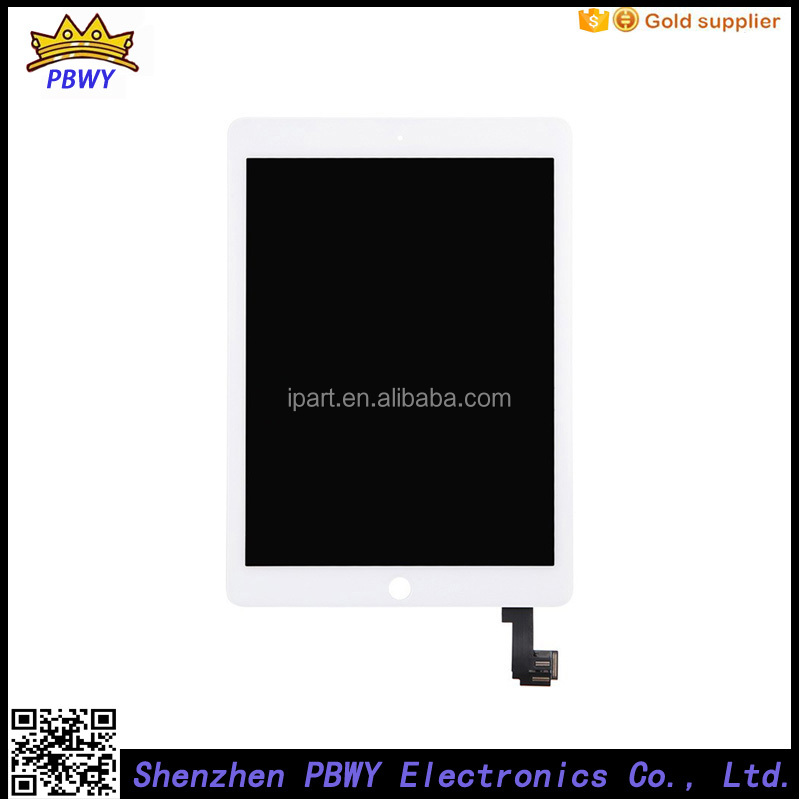Hot Sell Lcd Touch Screen Digitizer For Ipad Air 2 Screen Replacement Lcd, For Ipad Air2 Lcd Assembly