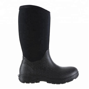 2018 high quality classic mid men's insulated seamless neoprene work boots