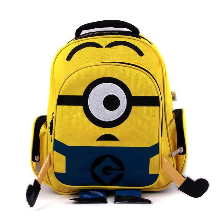 93eb5feb94 Buy Children Cartoon Minion Backpack School Bags For Kids Yellow Minions Bag  Students School Backpacks in Cheap Price on Alibaba.com