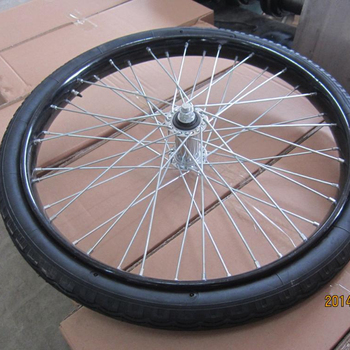 China Factory  4 Wheel Bicycle Wheel For Sale