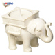OEM wholesale resin fashioncraft good luck elephant candle tea light Holder thank you gifts indian wedding gifts for guests