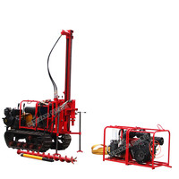 Air compressor stone mountain borehole drilling machine manufacturer
