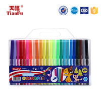 Fashionable water based ink non-toxic water color pen