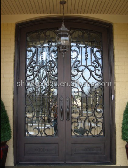 Steel Security Entry Double Doors Main Gate Design Home Gyd ...