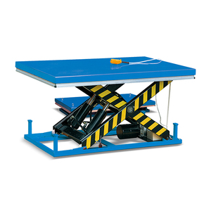 High Quality Stationary Electric Scissor Lift Table Meet EN1570