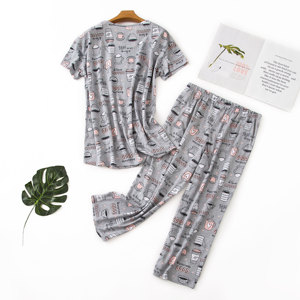 Christmas Wholesale women sleepwear Sexy Summer Short Pajamas Set Nighty for Girls on discount