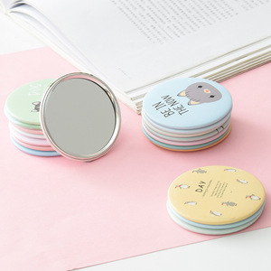 Free shipping Custom gift pocket mirror cheap small souvenir cosmetic mirror novelties mirror promotional gift