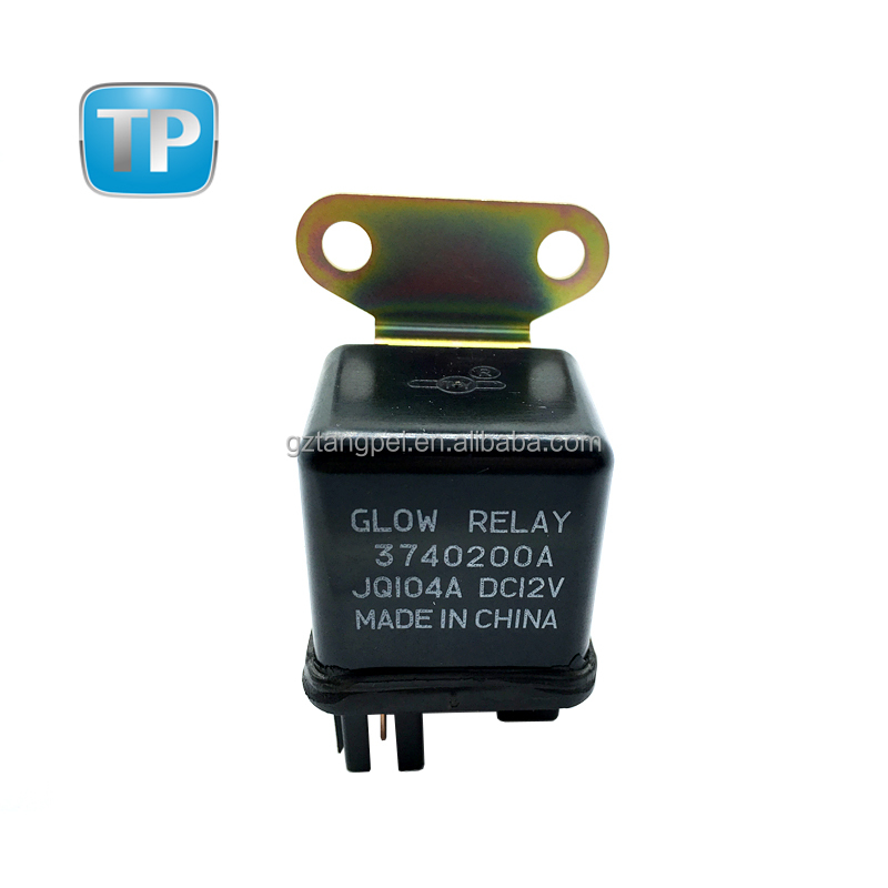 Mercedes Overload 4 Pin Black Tyco Relay OEM