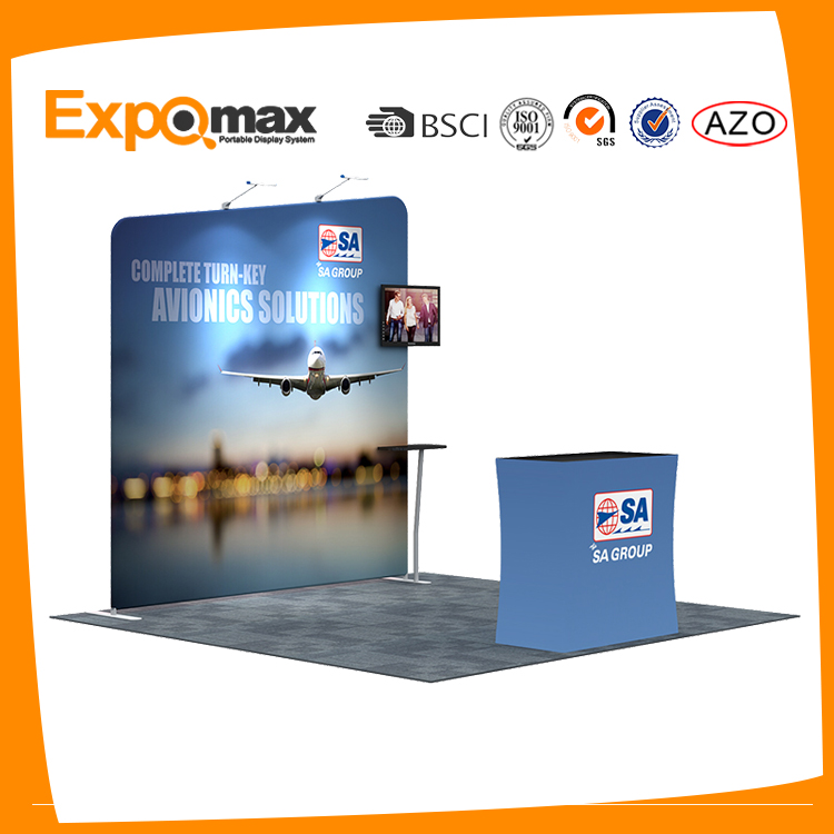 Trade <strong>show</strong> display portable standard 3x3 booth exhibition