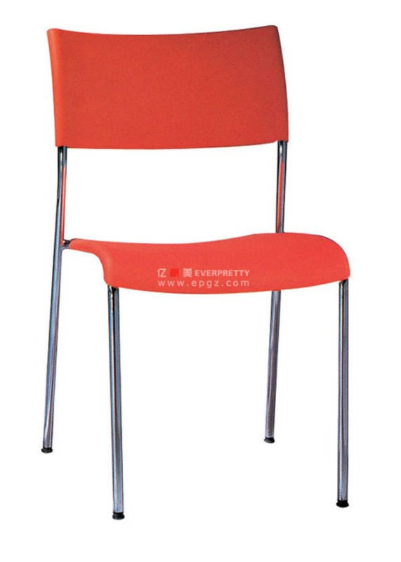 metal leg plastic chair pp chair plastic chair without arm