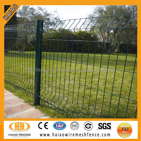 Panneau grillagé soudé , clôture rigide du jardin, grillage galvanisé,  treille soudé,à prix bas, pas cher