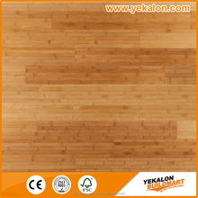 Best home decoration choice high gloss solid white horizontal bamboo flooring