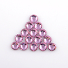 4MM Non hotfix flat back rhinestone for nail art crystal stone decoration pieces