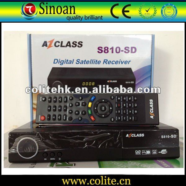 Azclasss S810 SD high digital satellite reciever