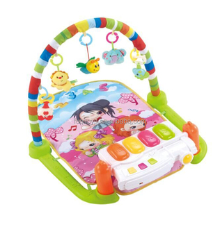 Creative Baby Gym Play Mat Lay Play  Fitness Music And Lights Fun