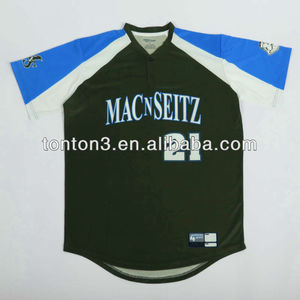 Custom Sublimation Team Set Baseball Jersey Uniform Shirts Baseball Shirt Sports Apparel Supplier