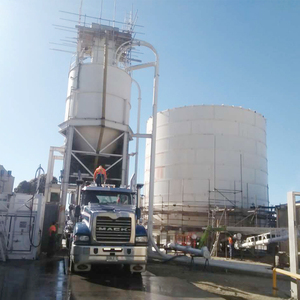 50T bulk storage silo for grain, corn, etc