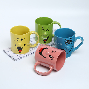 Ceramic Mugs wholesale fancy Mug Face Drinking Buy Coffee Smile Product Mugs Smiling fancy wholesale Gift Cups On 35Rqc4jALS