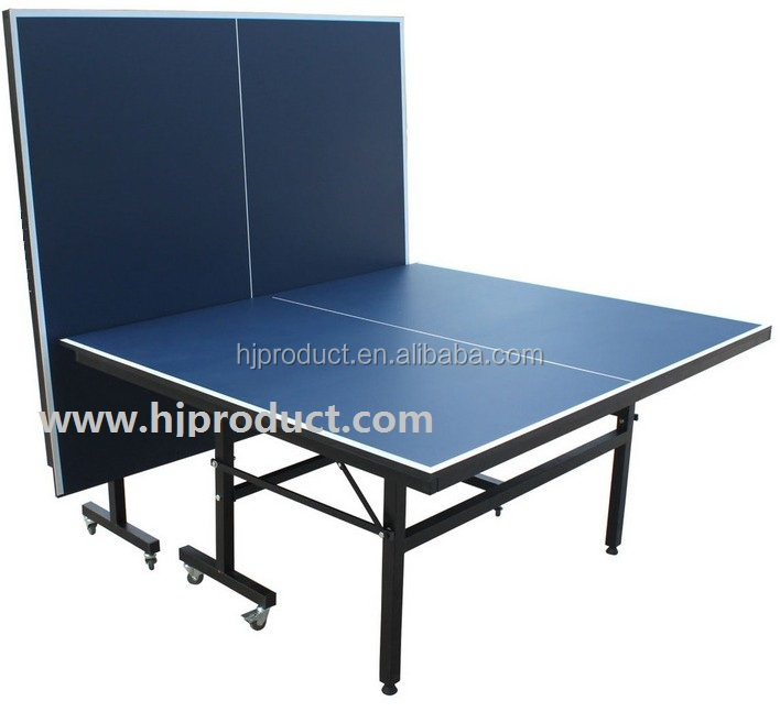 2015 Best Selling Modern Double Folding Up Moving Ping Pong Table