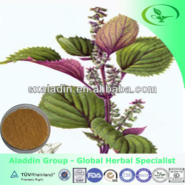 Organic purple perilla leaf extract